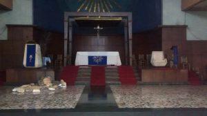 Presbiterio en Cuaresma