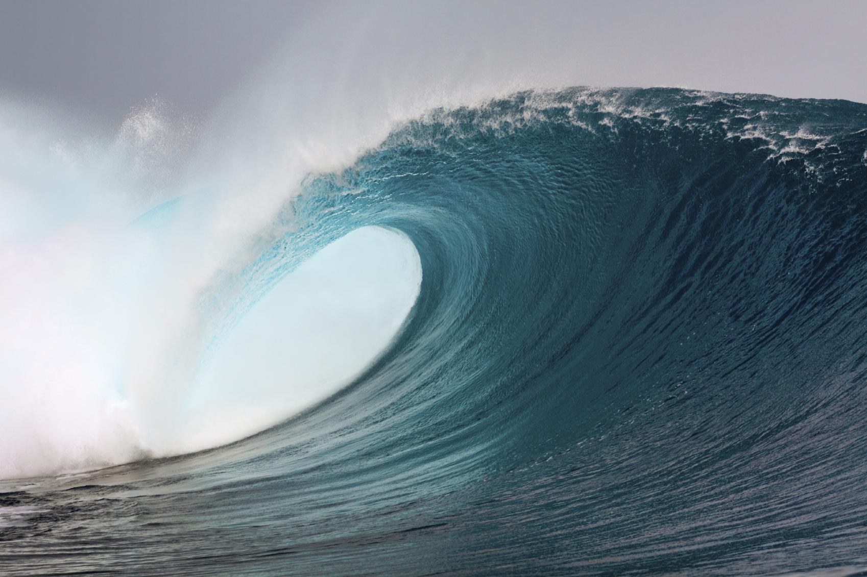 Las olas con la marea del siglo tendrán alturas superiores a los 4,45 metros
