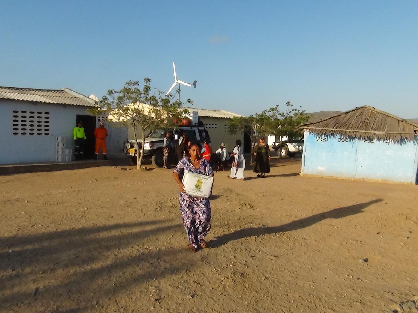 El trabajo docente en la Alta Guajira