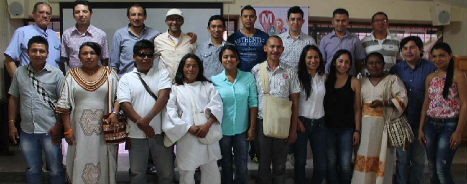Grupos étnicos que participaron en el taller organizado por Corpoica. Cortesía: Corpoica