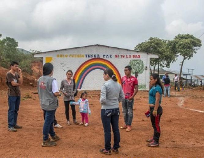 Unidad para las Víctimas visita a campesinos de Ataco, Tolima