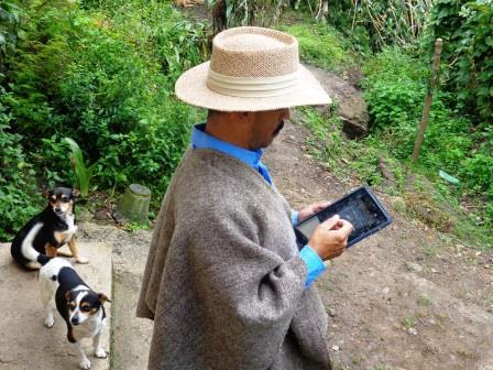 Tabletas para educar en el Valle de Tenza
