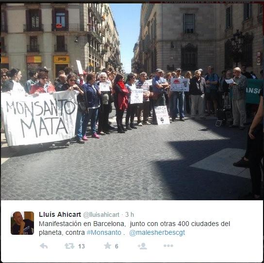Marcha mundial en contra de Monsanto