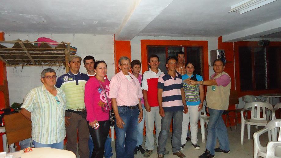 Los habitantes de la vereda El Guayabo viven la Economía Sostenible en Santa Bárbara