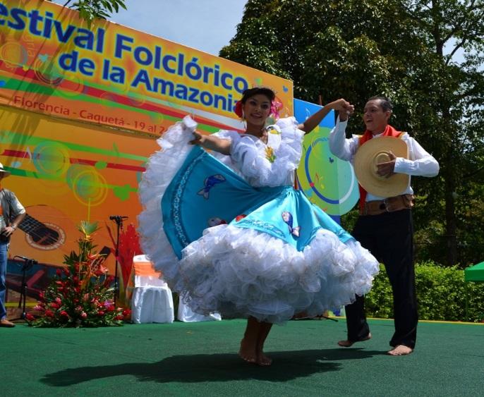 Festival Folclórico del Piedemonte Amazónico