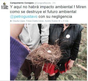 Comunidad denuncia 'arboricidio' en La Conejera