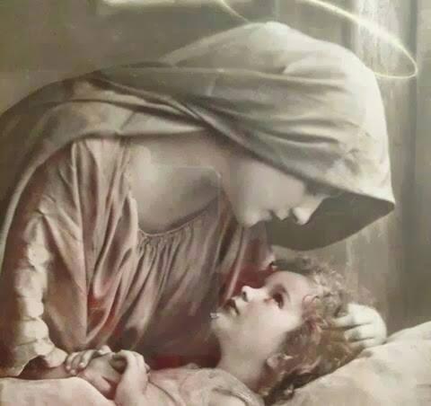 Virgen amorosa
