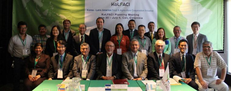 Reunión de cooperación para la agricultura entre Corea y latinoamérica
