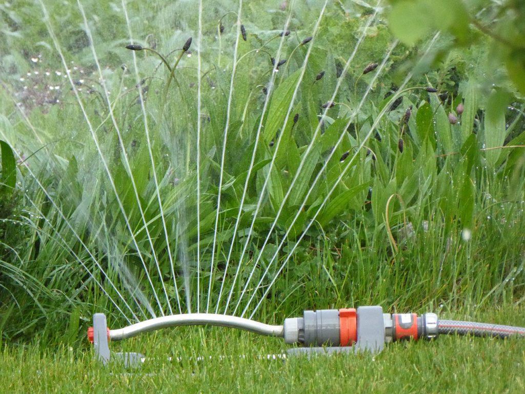 Se crea sistema de riego a control remoto