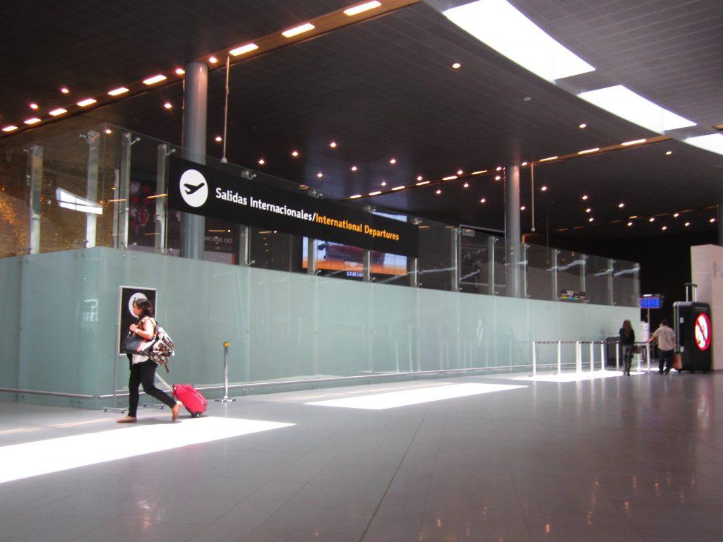 Aeropuerto internacional El Dorado, Bogotá.