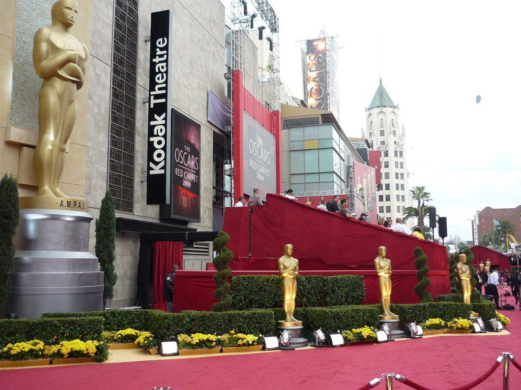 Teatro Kodak, lugar donde se llevó a cabo al entrega de los premios Oscar. Los ángeles, Estados Unidos.