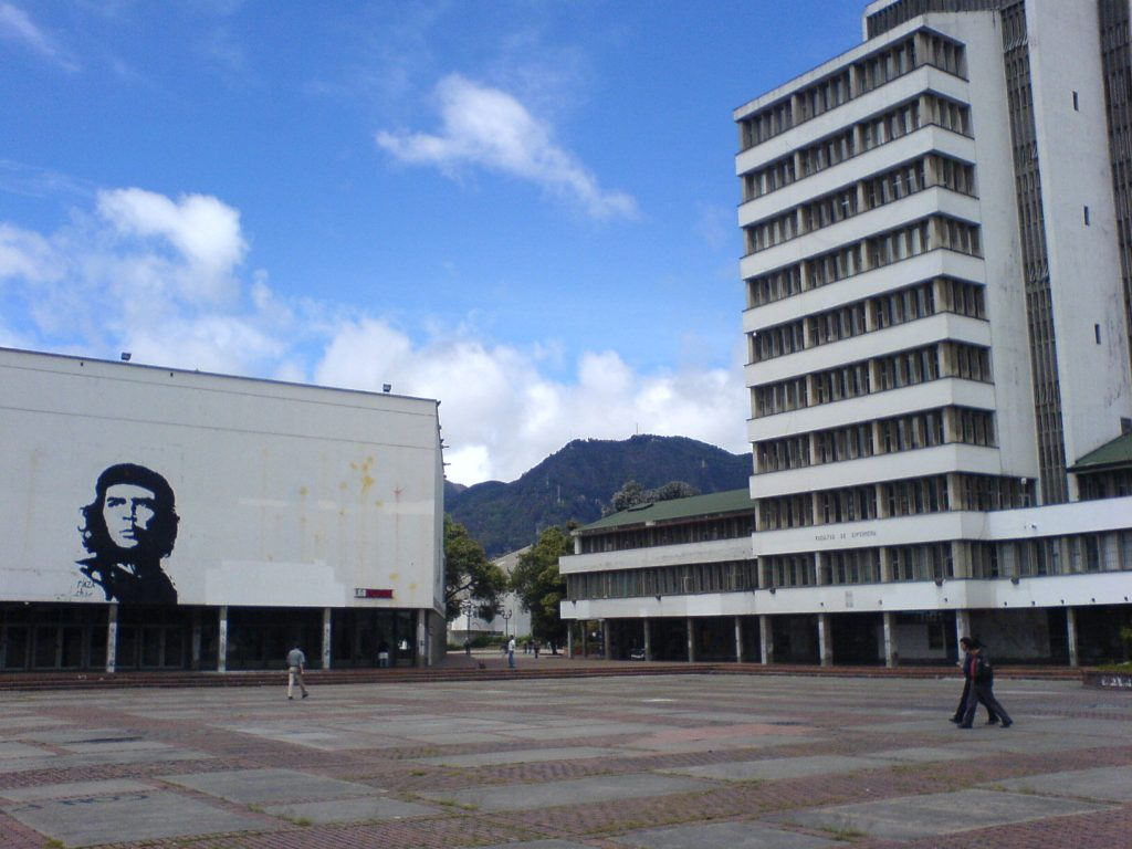 Universidad Nacional de Colombia, sede del foro