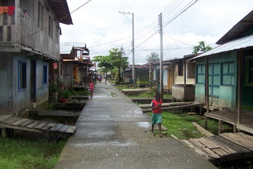 Calles del municipio de Vigía del Fuerte, departamento de Antioquia. Foto: trip-suggest.com