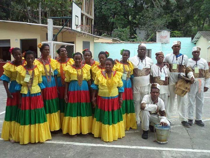 Grupo de danzas tradicionales, San José de Ure. Foto: www.zoominformativo.com