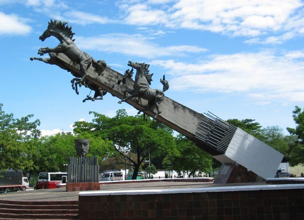 Monumento a los potros, Neiva, Huila