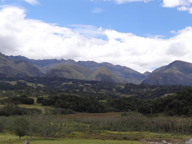 Cerros de Iguaque, departamento de Boyacá.