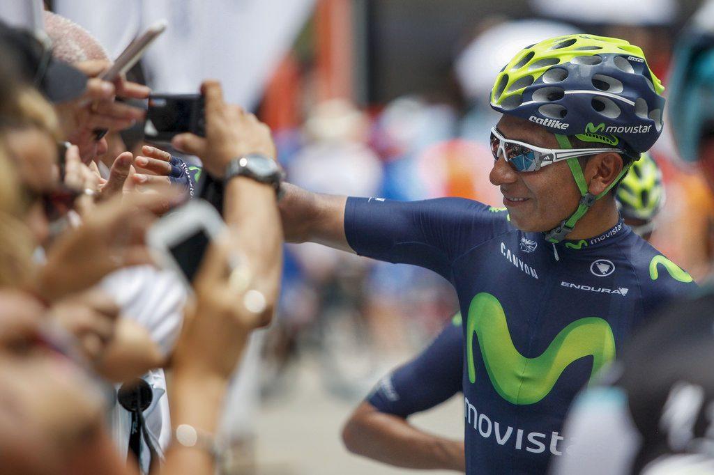 Niro Quintana, puesto 3 en el Tour de Francia 2016