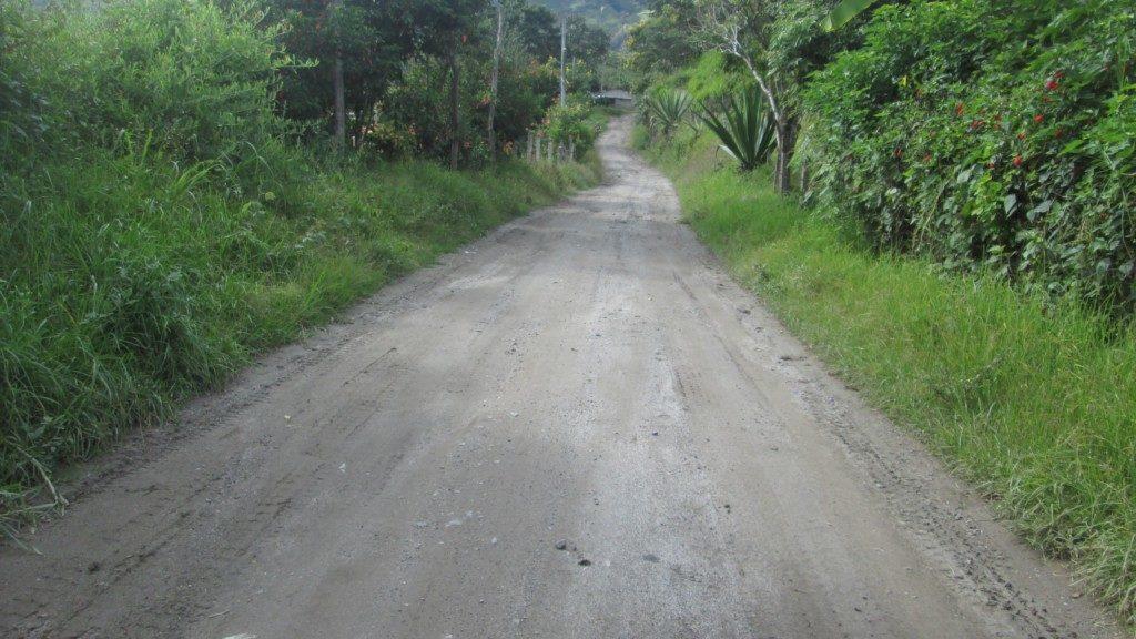 carreteras veredales