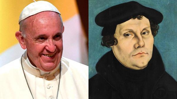 Lutero y papa